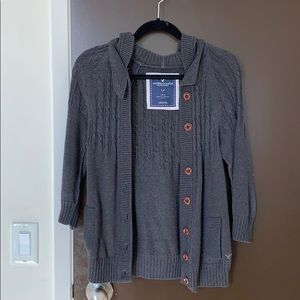 American Eagle chunky cotton cardigan